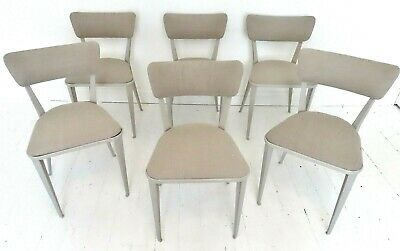 £825 • Buy Stunning Set 6 Vintage Ernest Race Ba Dining Chairs