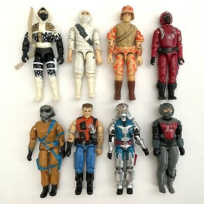 $ CDN32.75 • Buy Vintage 1980's Hasbro GI Joe Action Force Figures Collection X 8 Job Lot 4