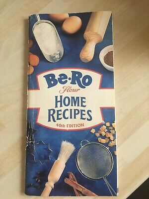 Be-Ro Recipe Home Recipes Book 40th Edition Vintage Cookery Retro • 30£