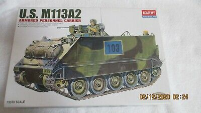 $29.99 • Buy Academy Model Kits U.S. M113A2 Armored Personnel Carrier 103 1/35 Scale