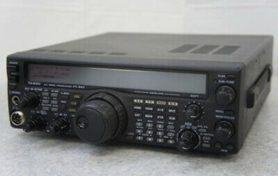Yaesu All Mode Transceiver FT-847 MH-31 With Microphone 0408 Y  • 607.36£