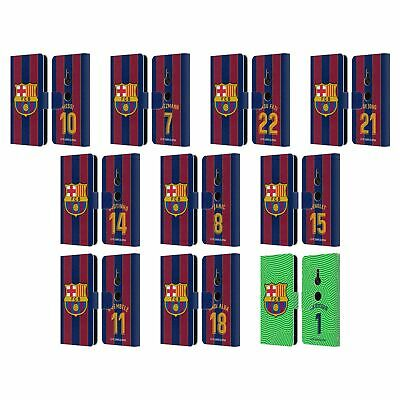 AU30.95 • Buy Fc Barcelona 2020/21 Players Home Kit Group 1 Leather Book Case For Sony Phone 1