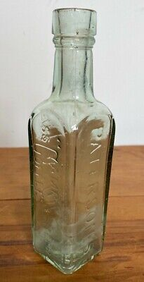 £19.99 • Buy Antique Paterson's Glasgow Camp Coffee & Chicor Bottle  *18