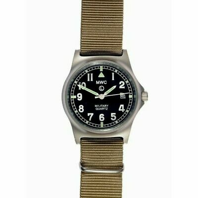 £95.03 • Buy MWC G10 LM Military Watch Date Desert Strap 50m