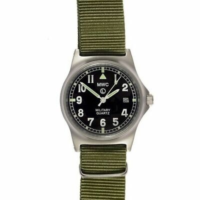 £94.98 • Buy MWC G10 LM Military Watch Date Olive Green Strap 50m
