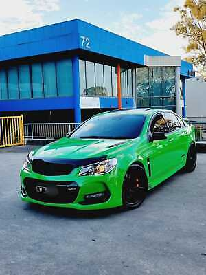 AU78500 • Buy 2017 Holden Commodore Ss Redline 6spd Manual Spitfire With Extras