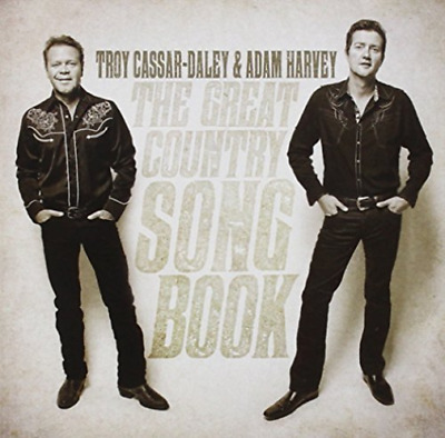 AU5.64 • Buy Cassar-daley,troy/adam Harvey-great Country Songbook (aus) Cd New