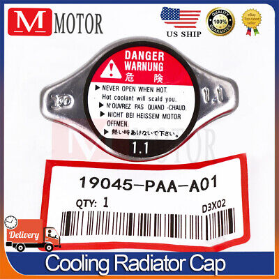 $7.45 • Buy Cooling Radiator Cap 19045-PAA-A01 Fit Honda Acura CL TL Accord Civic SIZE 1.1