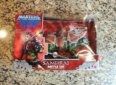 $45.97 • Buy Samurai Battle Cat MASTERS OF THE UNIVERSE MOTU 200x MIB #2