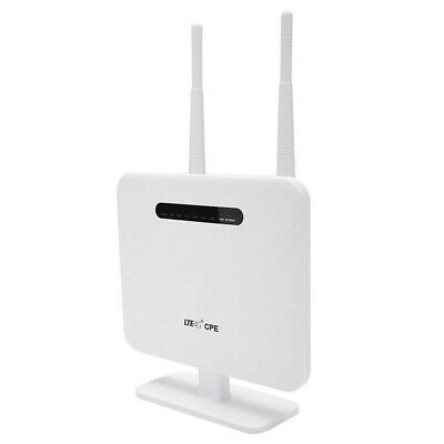 £46.97 • Buy NEW Unlocked 4G LTE CPE Wifi Router 300Mbps Wireless CPE & SIM Card Slot UK