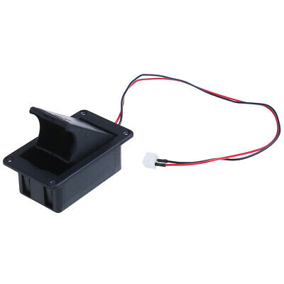 £3.76 • Buy 9V Battery Holder Case Box Compartment Cover For Guitar Bass Je