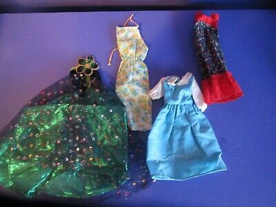 $ CDN5 • Buy Barbie Clothes..used..some Vintage!!   Dresses     Lot 78