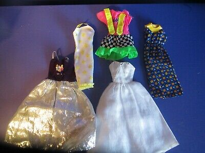 $ CDN5 • Buy Barbie Clothes..used..some Vintage!!   Dresses     Lot 79