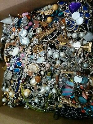 $ CDN31 • Buy Lot#3 VINTAGE-NOW JEWELRY 6+lbs -MIXED All Wearable