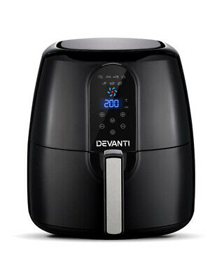 AU95 • Buy DEVANTI Devanti 7L Air Fryer Healthy Cooker Low Fat Oil Free Kitchen Oven Timer