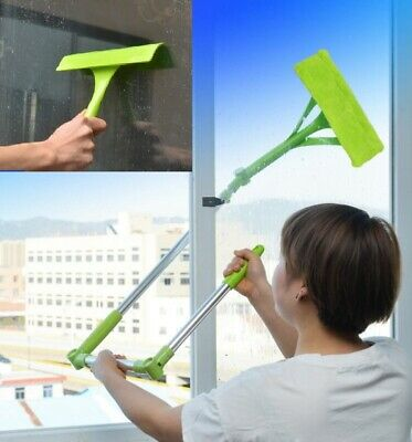 £20.99 • Buy U-type Telescopic High Rise Window Cleaner Glass Dust Cleaning Tool Squeegee