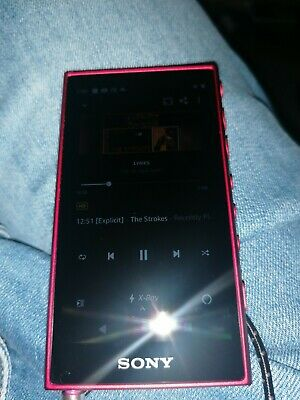 SONY Walkman NW-A105 Touchscreen MP3 Player - 16 GB Red • 140£