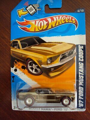 $ CDN45.01 • Buy Hot Wheels 2012 Super Treasure Hunt '67 Ford Mustang Coupe, On Card