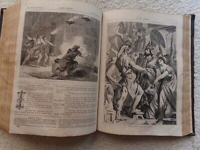 £215.56 • Buy 1860 Illustrated Family Holy Bible Cassell & Co. 1264 Pages