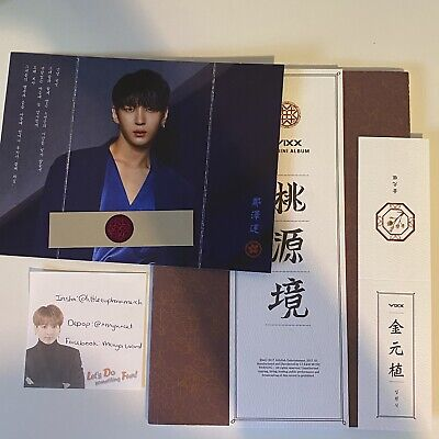 VIXX Shangri La Album Birth Flower Edition With Leo Photocard • 7£