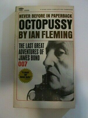 $7.51 • Buy JAMES BOND 007 OCTOPUSSY By IAN FLEMING  - 1st PRINTING SIGNET PAPERBACK 1967