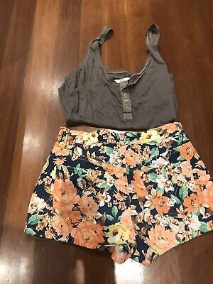 AU12 • Buy Women's Shorts Mink Pink With Free Sass N Bide Tank Top Size S