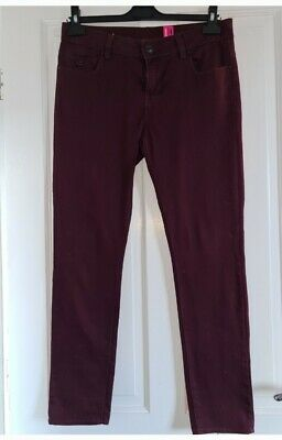 Womens Supersoft Skinny Mulberry Jeans From New LOOK SIZE 12 • 1.30£