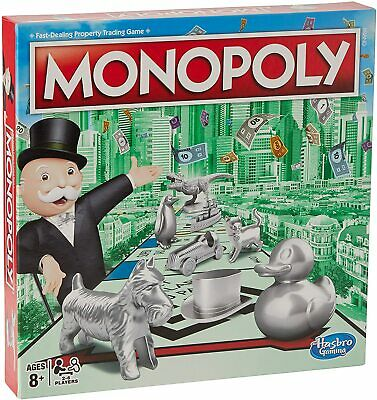 £21.99 • Buy Monopoly Classic New Token Line Up - BRAND NEW