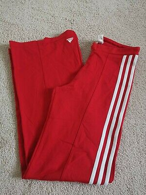 AU9 • Buy Adidas Red Stretch Pants Trousers Size 10