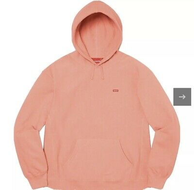$ CDN269.44 • Buy Supreme Small Box Logo Hoodie SS21 Dusty Coral Size Small Ready To Ship In Hand