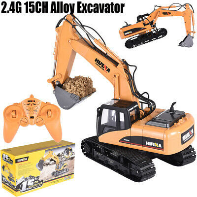 2.4G 1/14 Scale Digger, Remote Controlled Construction Car Truck RC Excavato • 47.98£
