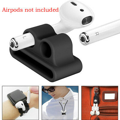 AU2.97 • Buy Anti-lost Strap Silicone Case Cover Skin Holder For AirPods  Accessories H3