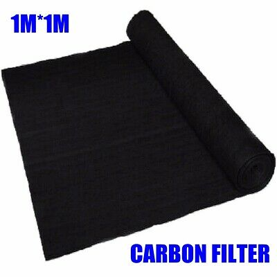 AU16.29 • Buy 1*1m 3mm  Activated Carbon Air Conditioner Purify Filter Fabric Purifier Fabric
