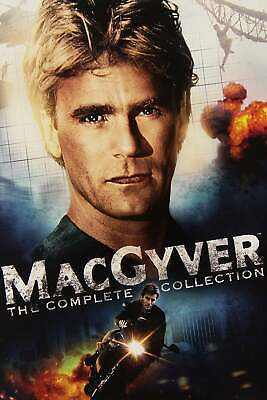 $9.71 • Buy MacGyver (1985) V3 TV Series  Poster Glossy Paper Size  A3 A4 FREE POSTAGE