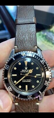 $ CDN45000 • Buy Rolex 5512 Submariner Exclamation Dial Closed Minute Track 1962