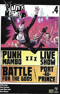 AU14.64 • Buy Punk Mambo Comic 4 Cover D Variant First Print 2019 Adam Gorham Cullen Bunn .