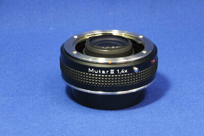 $ CDN475.23 • Buy Used Contax Rts Muter Iii 1.4X Interchangeable Lenses Monthly Warranty