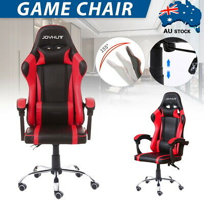 AU97 • Buy Gaming Chair Office Executive Computer Leather Chairs Seating Racing Recliner