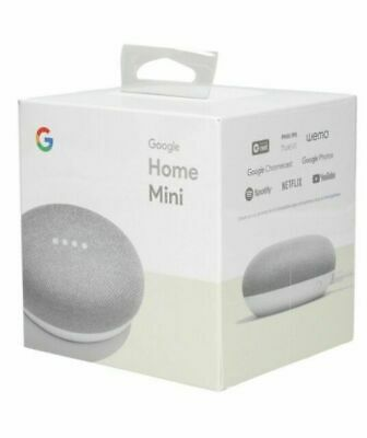 AU48.42 • Buy Google Home Mini - Chalk (Uk) NEW