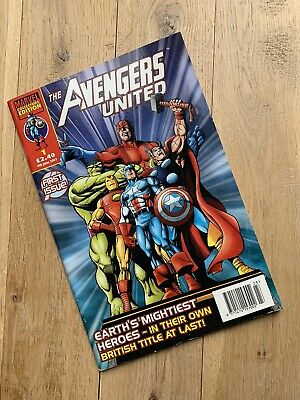 £19.99 • Buy The Avengers United - First Issue - #1 Marvel Collectors Edition June 2001 Comic