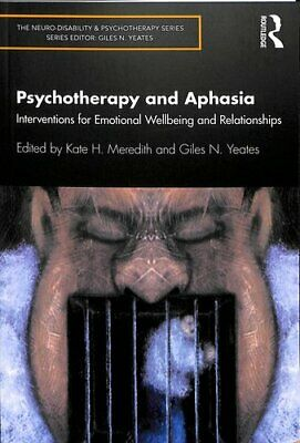 £27.94 • Buy Psychotherapy And Aphasia Interventions For Emotional Wellbeing... 9780367141400
