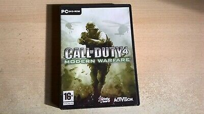 £3.99 • Buy Call Of Duty 4 Modern Warfare - Pc Game - Fast Post - Original & Complete