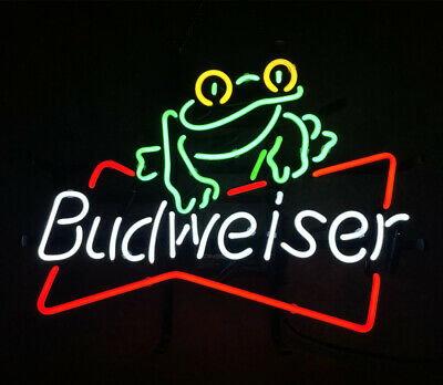 $ CDN148.77 • Buy Frog Real Glass Store Display Artwork Gift Wall Boutique Neon Sign