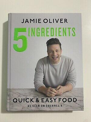 AU29.99 • Buy 5 INGREDIENTS By Jamie Oliver 2017 - HARDCOVER - Quick, Easy Recipes