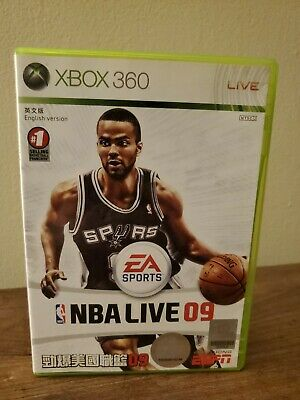 AU1.28 • Buy NBA Live 09 Xbox 360 NTSC-J Please See Description