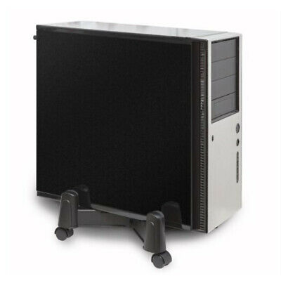 AU30.88 • Buy Adjustable Computer Desktop CPU Stand Tower Case Wheels Atx Roll Mobile Caster