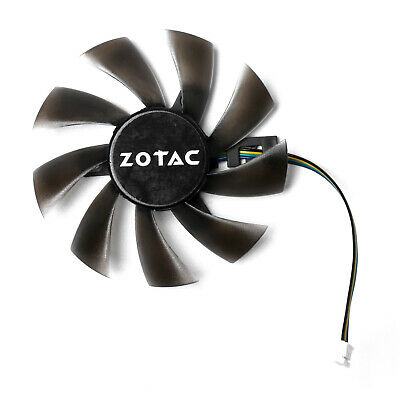 AU7.84 • Buy Graphics Card Cooling Fan T129215SH 4Pin For GeForce GTX 1060 Mini 3GB ITX