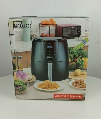 AU65.99 • Buy Miraklass Air Fryer 7L LCD Fryers Oven Airfryer Cooker Kitchen Healthy Oil Free