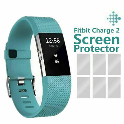 AU4.80 • Buy 3PCS Premium HD Clear Screen Protector Film Guard Shield For Fitbit Charge 2