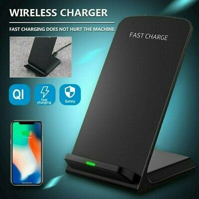 AU10.99 • Buy AU Qi Fast Wireless Charger Charging Dock Stand For IPhone 12 Pro Max 11 XS XR 8